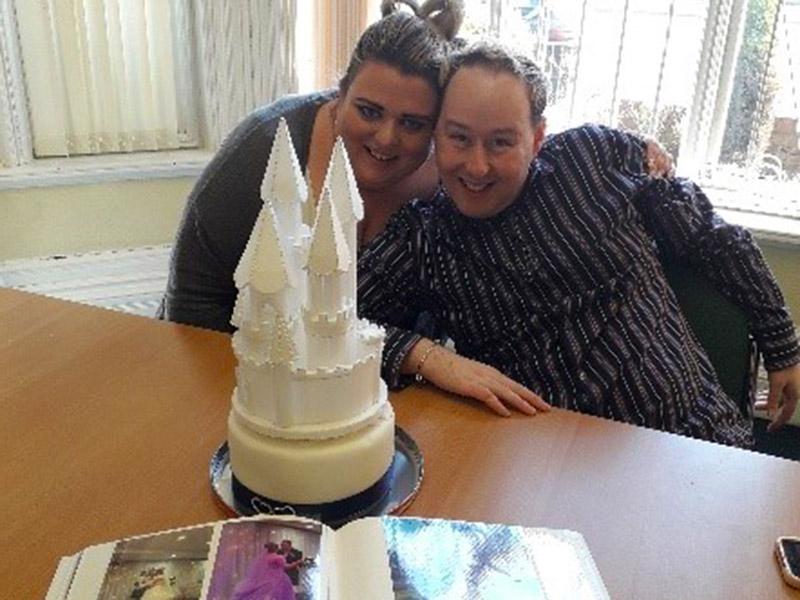 Brian and Sarah I AM Cake