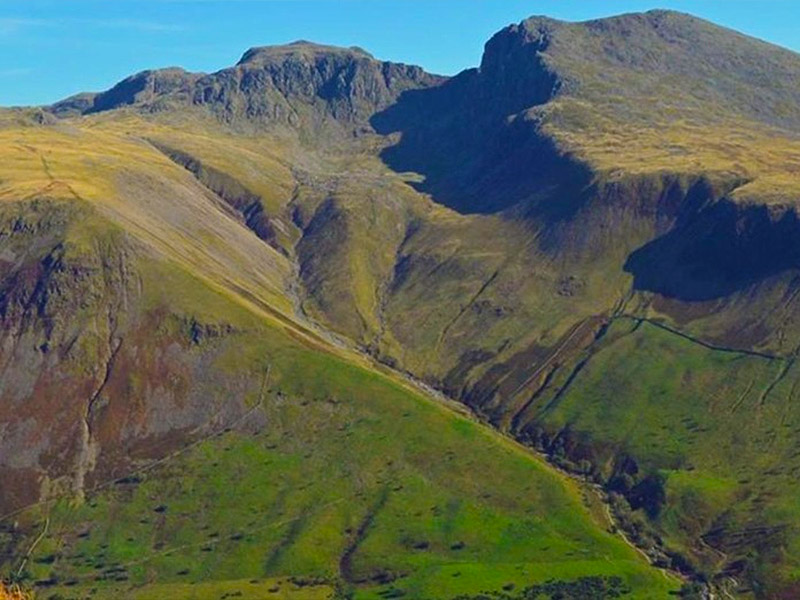 Zach to walk up Scarfell Pike, England's highest mountain